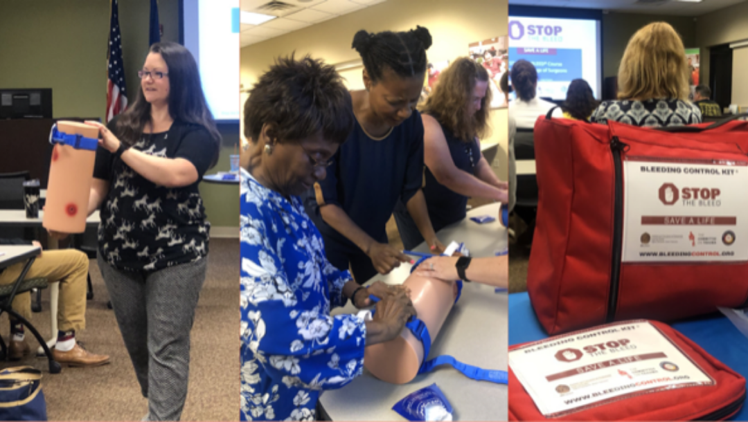 Stop the Bleed Training Comes to NYSID