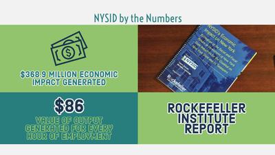 Rockefeller Institute Unveils NYSID's Impact on NYS Economy