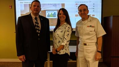 Employment, Entrepreneurship and Naval History Highlight Outstanding Veterans' Summit