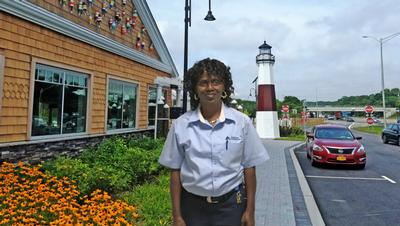 Long Island Welcome Center Visitor Acknowledges Star Employee for Her Work Ethic and Warmth